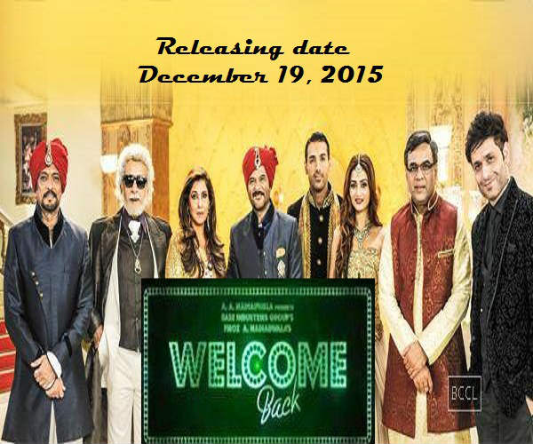 welcome back movie poster hd