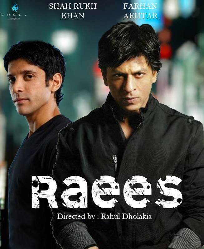 Shah Rukh Khan and Farhan Akhtar in Raees