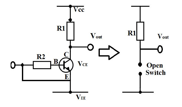 Transistor in cut off region image