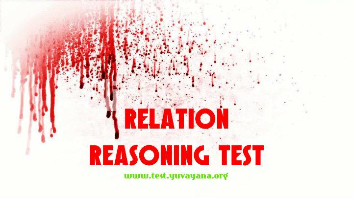 blood relationship reasoning pdf