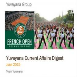 Yuvayana Current affaris june 2015