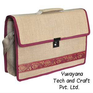 Jute Conference bags by Yuvayana Tech and Craft
