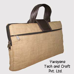 Stylish Jute Laptop Bags quote