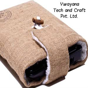 Stylish Jute laptop bag for college students