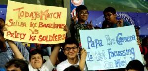 Fans RR Vs KXIP match