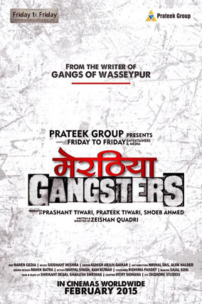 meeruthiya gangsters movie poster