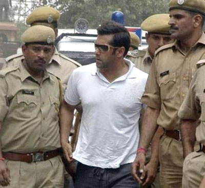 salman khan jailed for 5 years images