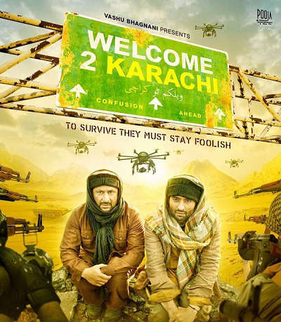 welcome to karachi movie poster