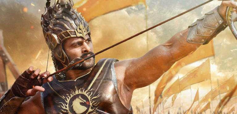 Prabhas in Baahubali with arrow Desktop Wallpaper HD