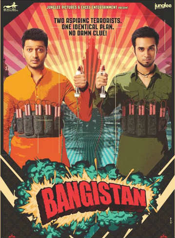 Riteish, Pulkit Starrer Bangistan movie poster
