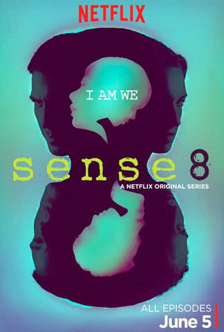 Sense8 TV series poster Netflix season 1 2015