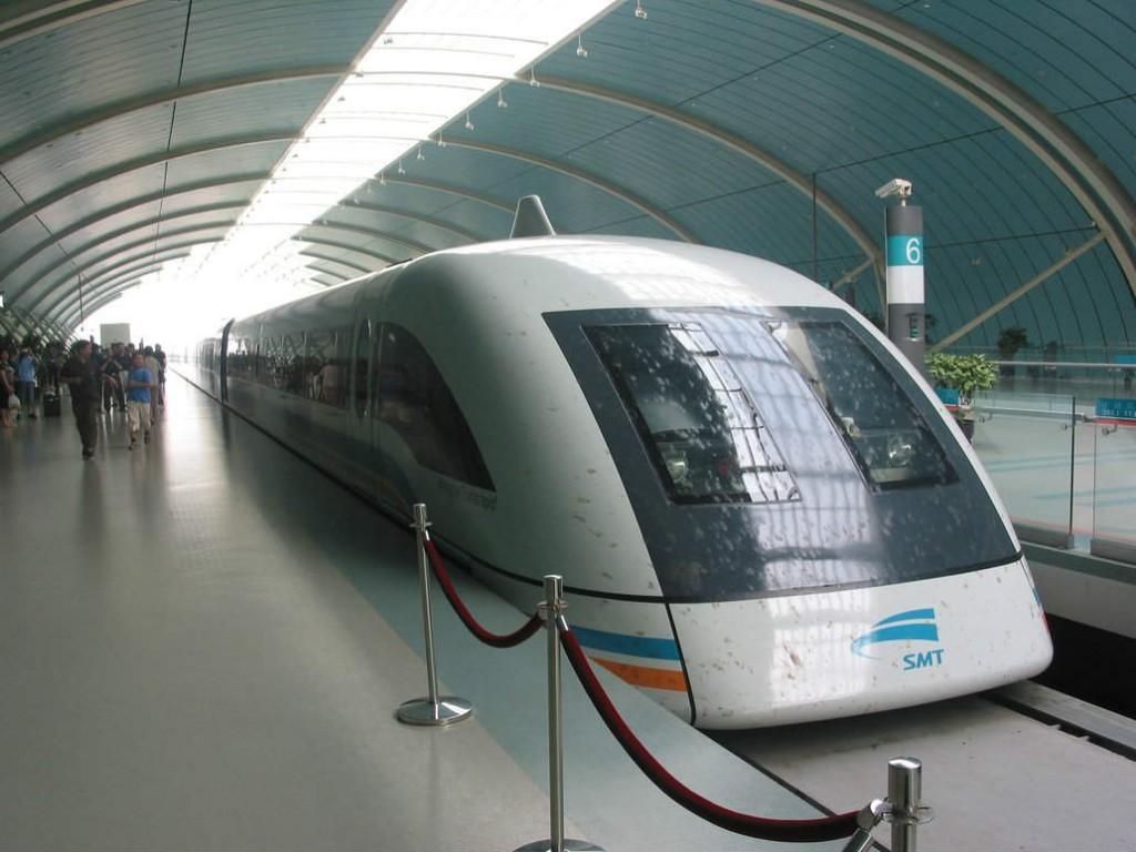 Shanghai maglev Fastest train in world