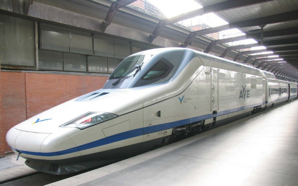 Talgo 350 fastest train in world