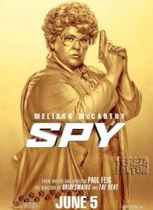 melissa mccarthy spy poster goldfinger funny