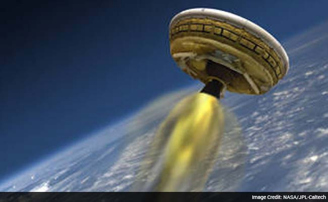nasa flying saucer