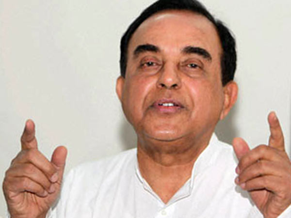 subramanian swamy BJP Leader