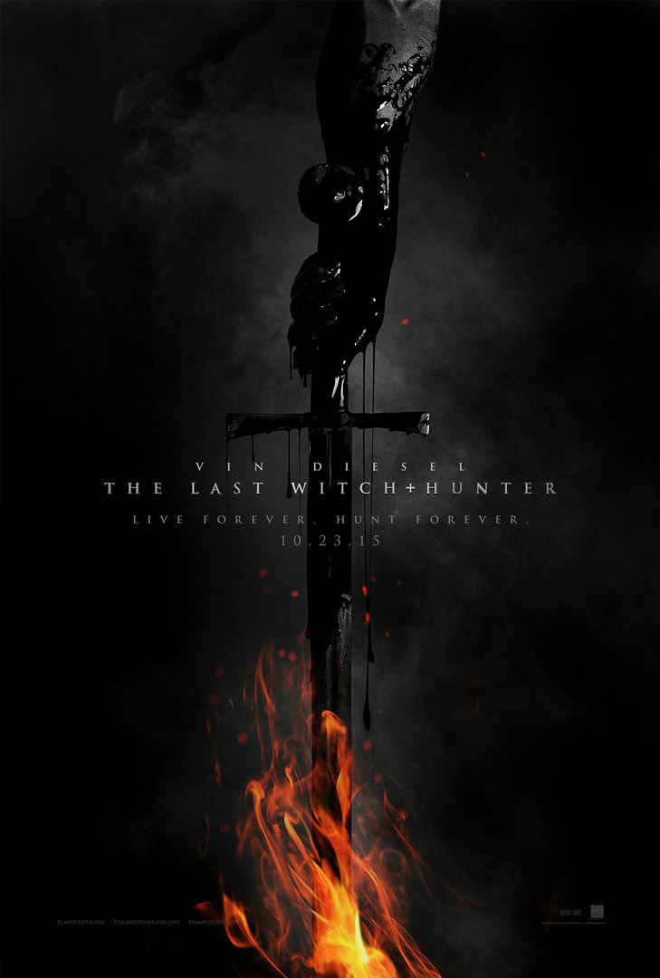 The Last witch hunter first look poster