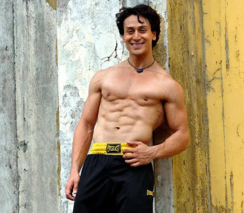 tiger shroff abs pictures wallpaper