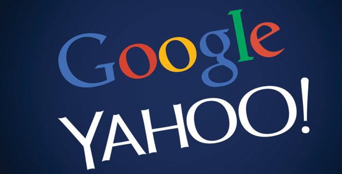 Yahoo+google e searching partnership