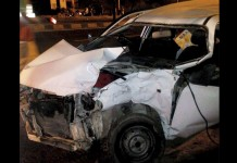 BJP MP hema car accident