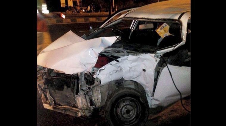 BJP MP hema car accident