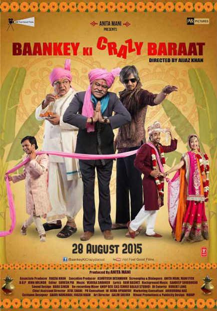 Baankey Ki Crazy Baraat Poster
