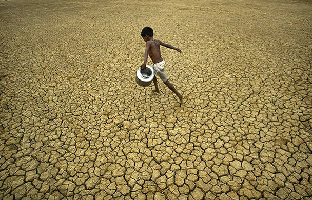 drought in India images