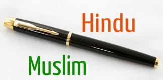 Hindu Vs Muslim