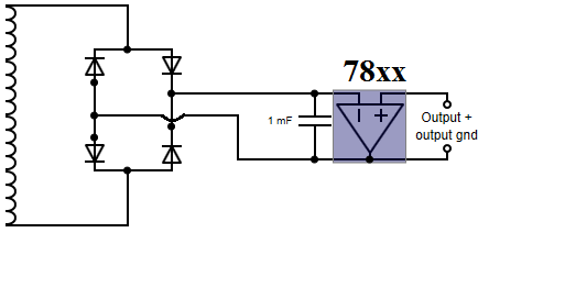 how to design a 5v    9 v    12v power supply