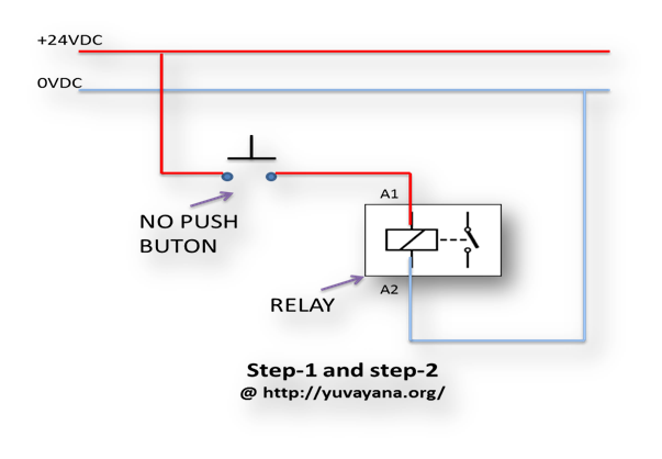 Blinking Light Circuit Diagram | How To Create Relay Logic Circuit With Examples Engineer S Portal