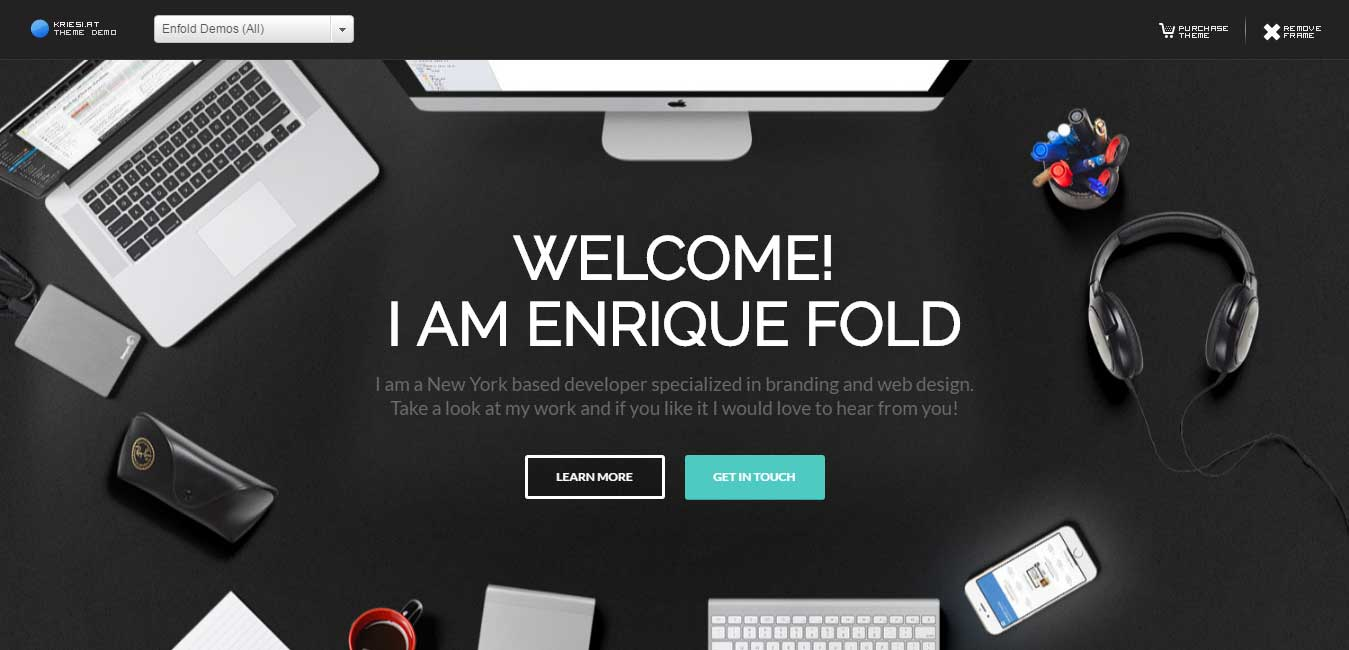 Enfold wordpress multipurpose Theme Enfold