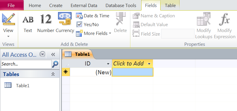 MS-Excel vs MS-Access