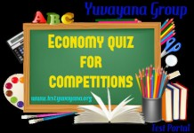 Economy quiz for competitions - 1