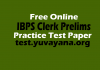 IBPS-Clerk-Prelims-Practice