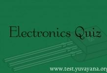 Electronics Engineering Practice Test