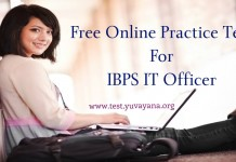 IBPS IT Officer Practrice Test