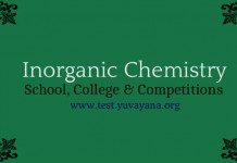 Inorganic Chemistry quizzes