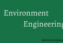 Environment Engineering objective questions