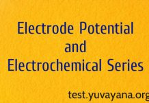 Electrode potential and electrochemical series objective type question answer for gate ies