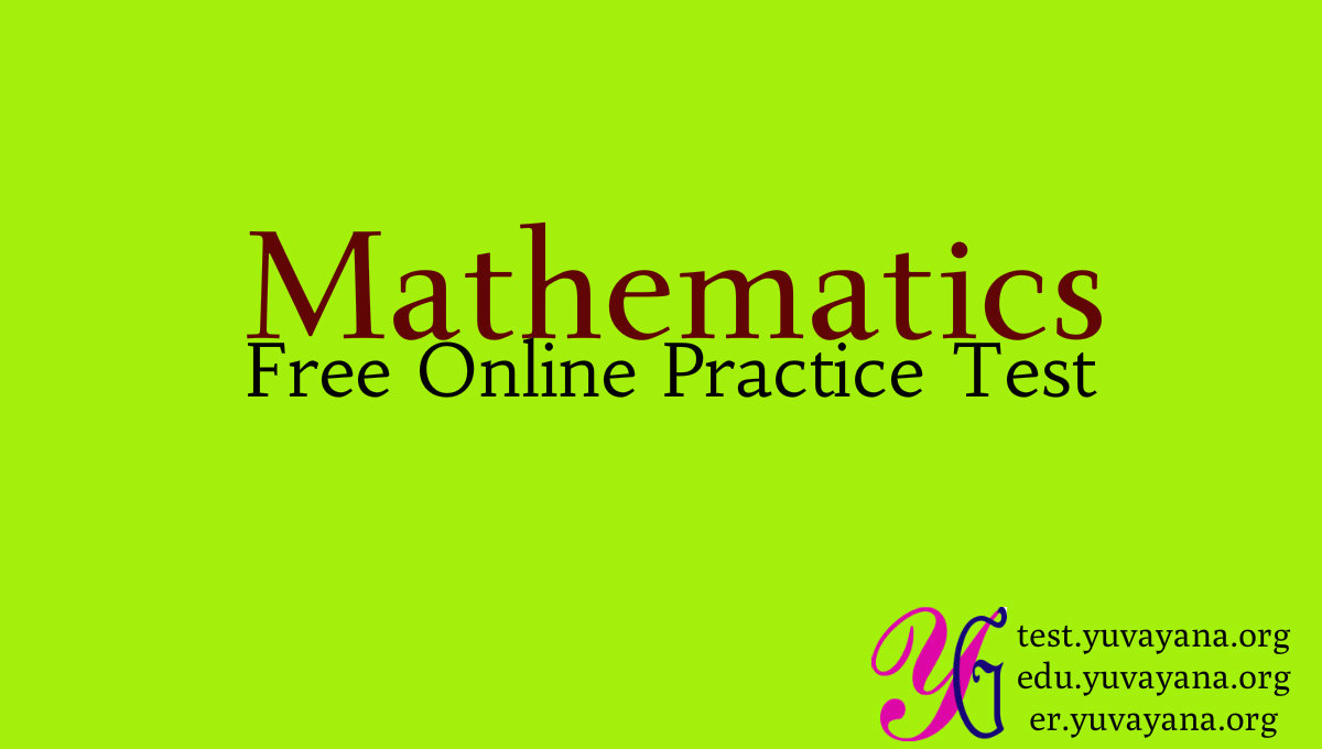 Free Maths Practice Test question answer for School and Competitions ...
