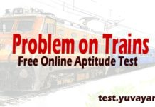 Problem on Trains aptitude test