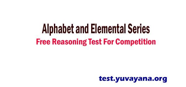 Alphabet : Verbal Reasoning Mock Quiz