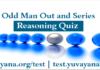 Free Reasoning Quiz for Competition Exams , Odd Man Out Series Free Reasoning Quiz