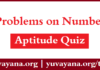 Free Aptitude Problems on Number