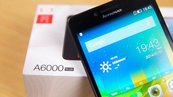 Lenovo A6000 PLUS smartphone