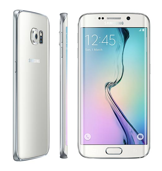 samsung galaxy edge white images