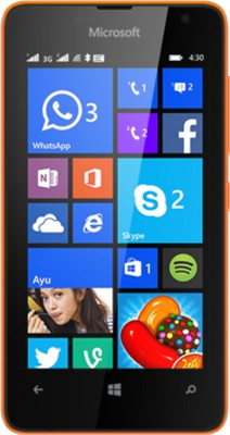 microsoft lumia 430 front images