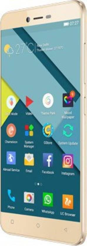 gionee p7 android smartphone with 2 GB RAM and 8 MP Primary camera