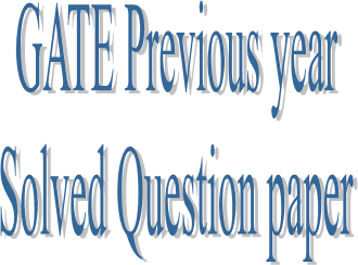 Gate-previous year solved-paper