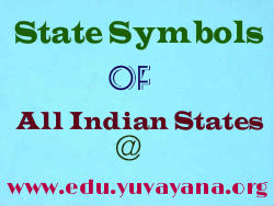 State Symbols of all Indian states